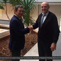 New Big Player in the Label market: Miyakoshi Europe signs a collaboration agreement with Autajon Group